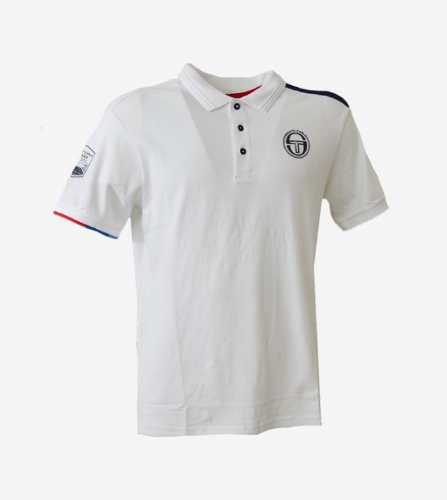 IELIN POLO [WHITE/NAVY]