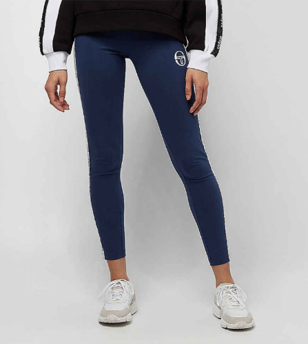 JOLA TAPE LOGO LEGGINGS [VINTAGE BLUE/WHITE]