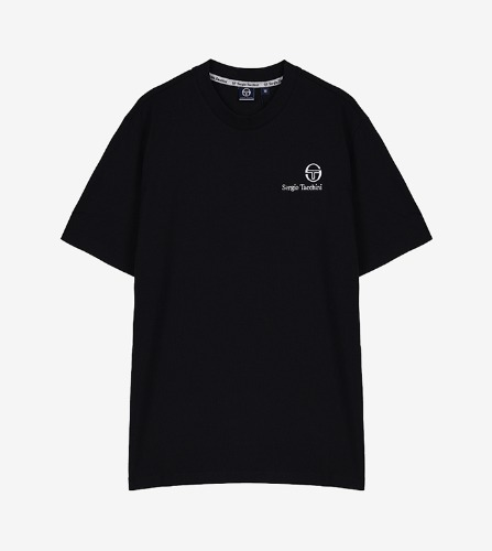 FELTON T-SHIRT [BLACK/WHITE]