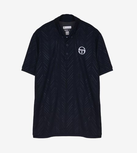 CHEVRON POLO [NAVY/WHITE]