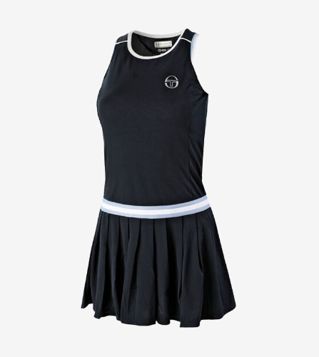 PLIAGE DRESS [NAVY/WHITE]