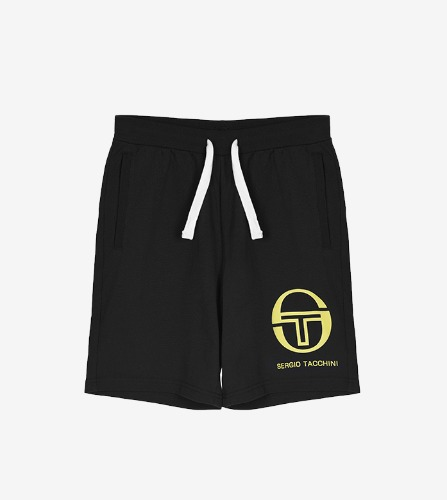 OASIS 020 SHORT [BLACK/ACID LIME]