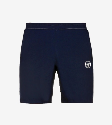 CLUB TECH SHORT [NAVY/WHITE]