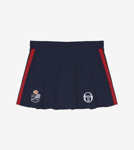 FRIDA/MC/STAFF SKORT  [NAVY/APPLE RED]