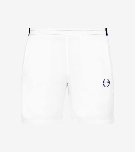 CLUB TECH SHORT [WHITE/NAVY]